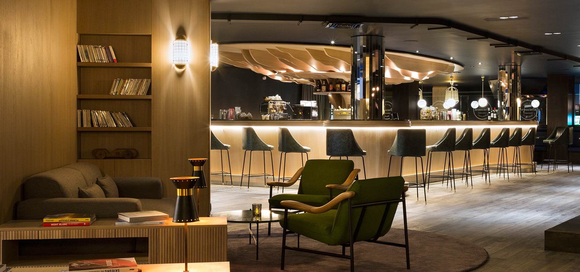 Agencement rdc et bar | Poitoux