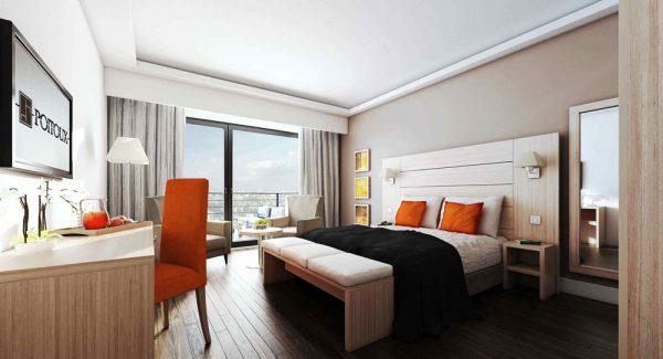 Mobilier chambre d'hôtel