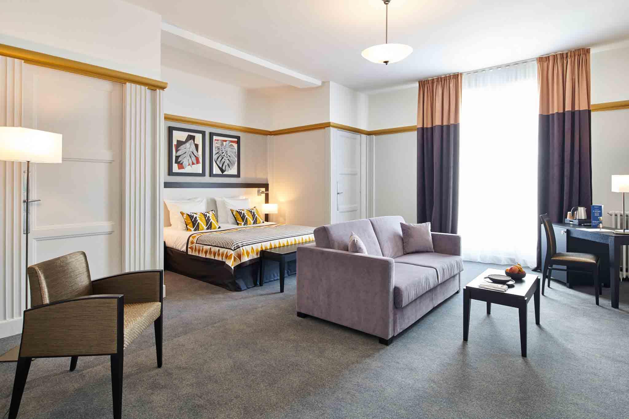 Réalisation mobilier chambre hôtel