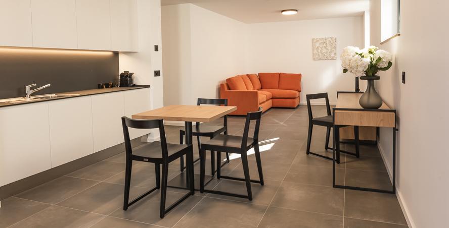 Projet de résidence en mobilier bois et métal