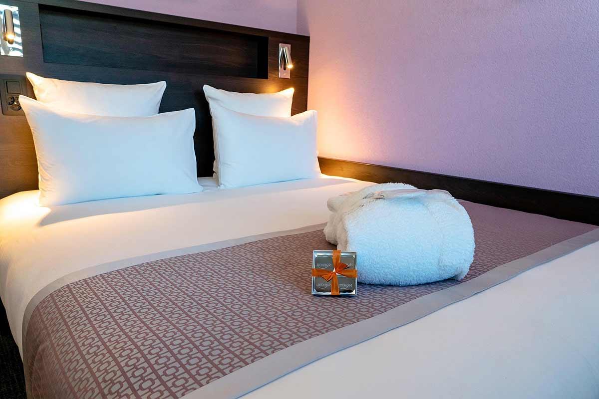 Réalisation mobilier hotel